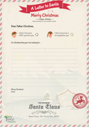 Letter to Father Christmas Printable