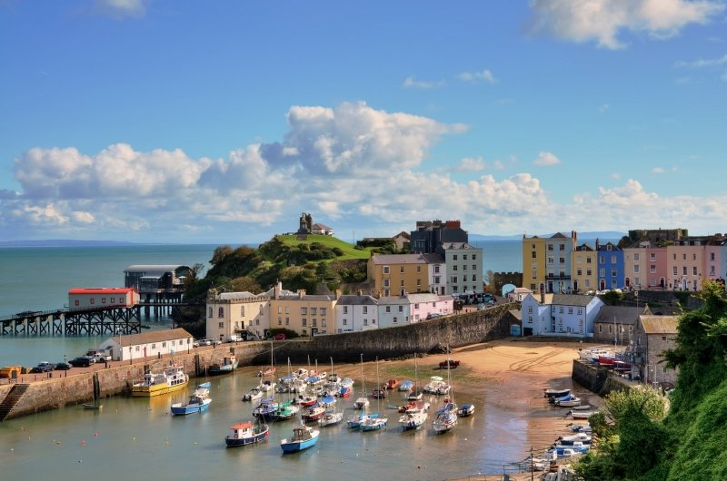 Tenby Harbour pic