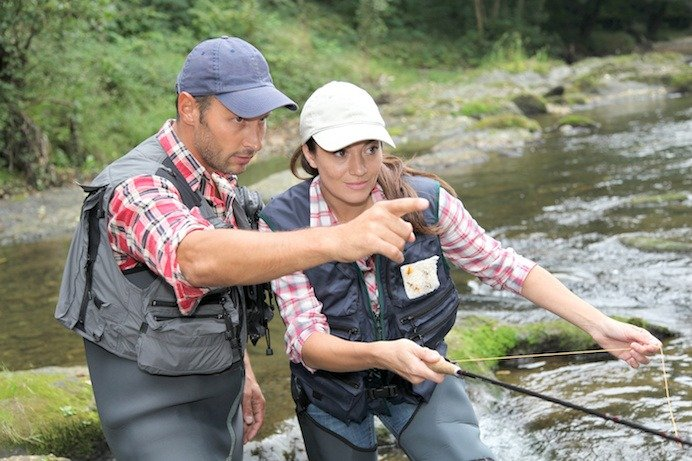 Become a better angler in Wales