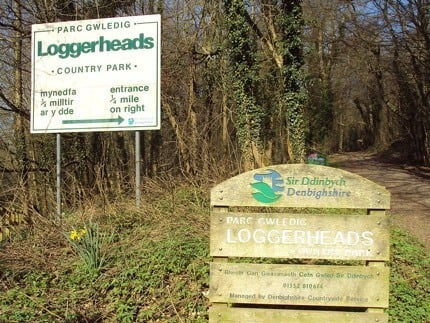 Walks in Loggerheads Country Park