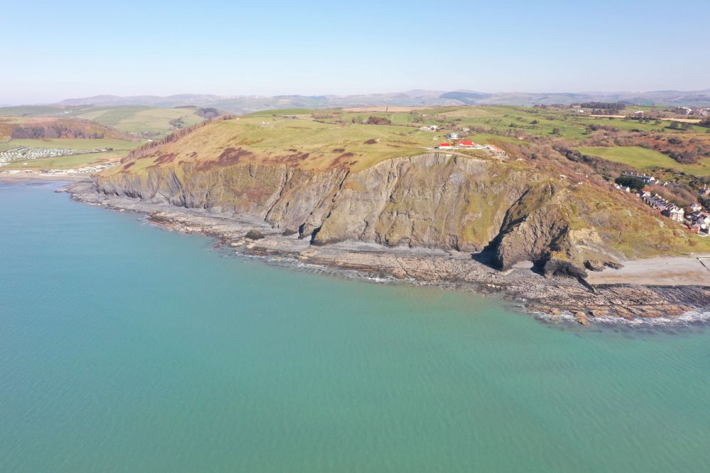 The Wales Coast Path in Ceredigion