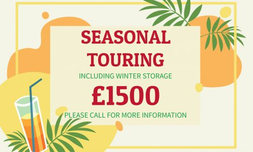 Seasonal Touring - £1500