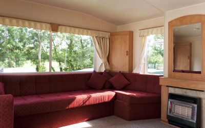 Bronze Plus Caravan lounge
