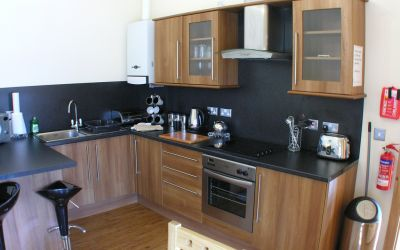 Carmarthenshire Courtyard kitchen